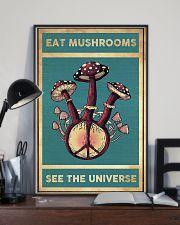 Mushroom Eat Mushroom See The Universe 11x17 Poster lifestyle-poster-2