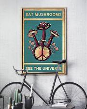 Mushroom Eat Mushroom See The Universe 11x17 Poster lifestyle-poster-7