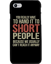 You Really Have To Hand It Phone Case tile