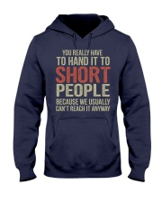 You Really Have To Hand It Hooded Sweatshirt tile