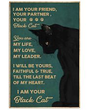 Cat I Am Your Black Cat 16x24 Poster front