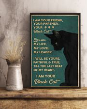 Cat I Am Your Black Cat 16x24 Poster lifestyle-poster-3