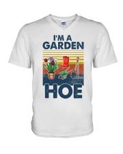 Gardening Im A Garden Hoe V-Neck T-Shirt tile