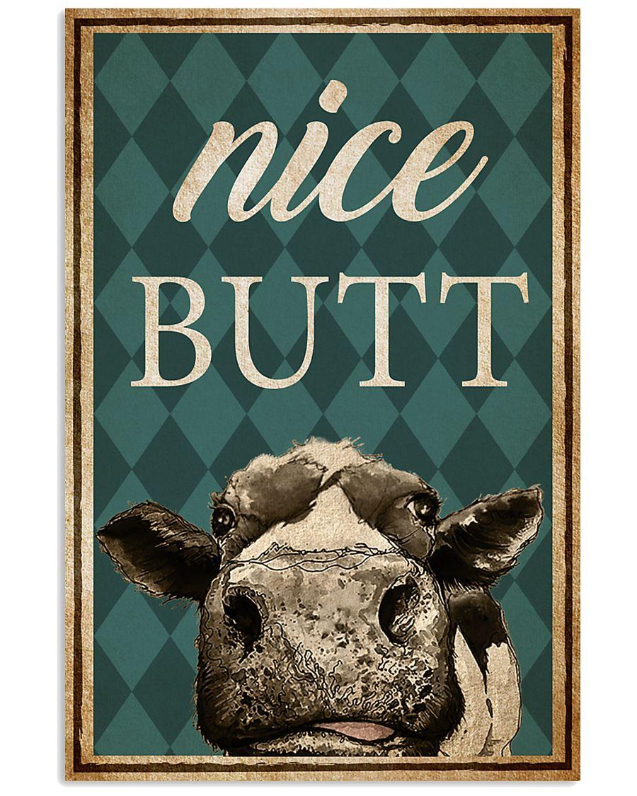 Cow Nice Butt 11x17 Poster