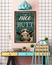 Cow Nice Butt 11x17 Poster lifestyle-poster-6