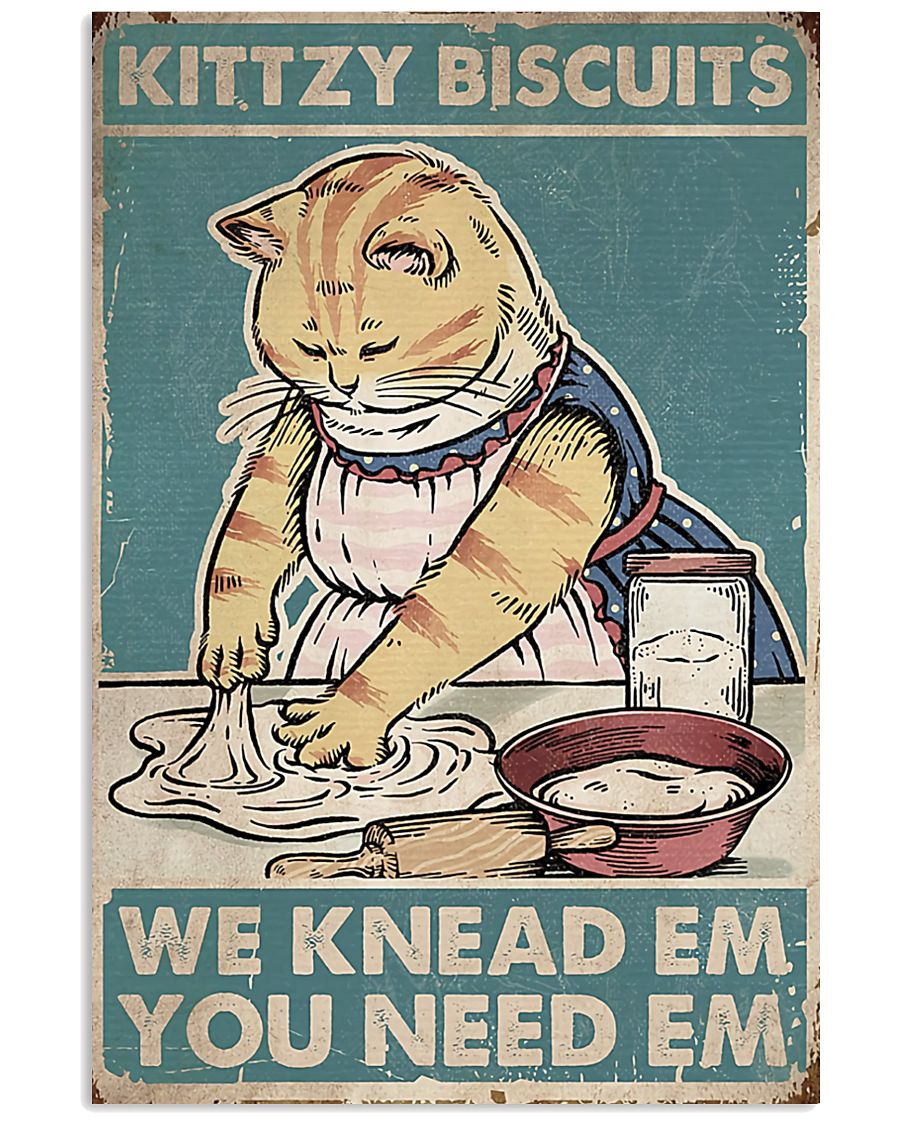 Cat Biscuits Poster 16x24 Poster