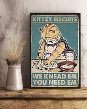 Cat Biscuits Poster 16x24 Poster lifestyle-poster-3