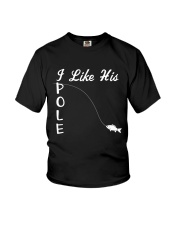 Couple Fishing I Like His Youth T-Shirt tile