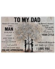 Father To My Dad 17x11 Poster front