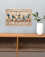 Softball God Says You Are 17x11 Poster poster-landscape-17x11-lifestyle-24