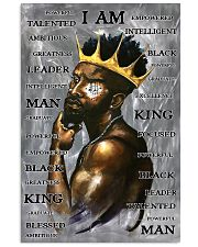 Black Man I'm King 24x36 Poster front