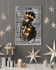 Black Man I'm King 24x36 Poster lifestyle-holiday-poster-1