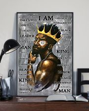 Black Man I'm King 24x36 Poster lifestyle-poster-2