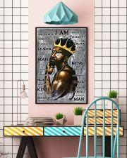 Black Man I'm King 24x36 Poster lifestyle-poster-6