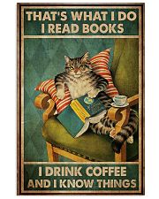 Cat I Drink Coffee Poster 16x24 Poster front