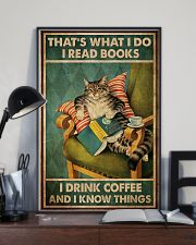 Cat I Drink Coffee Poster 16x24 Poster lifestyle-poster-2