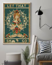Yoga Let That Go Poster 11x17 Poster lifestyle-poster-1