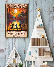 Cat Salem Sanctuary  16x24 Poster lifestyle-holiday-poster-2