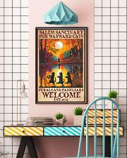 Cat Salem Sanctuary  16x24 Poster lifestyle-poster-6