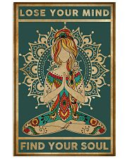 Yoga Loose Your Mind FInd Your Soul 11x17 Poster front