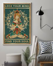 Yoga Loose Your Mind FInd Your Soul 11x17 Poster lifestyle-poster-1