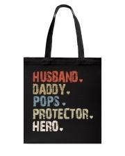 Father Hero Protector Hero Tote Bag tile