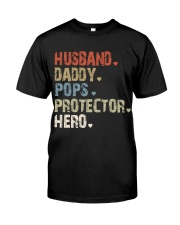 Father Hero Protector Hero Classic T-Shirt front