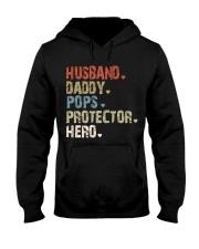 Father Hero Protector Hero Hooded Sweatshirt tile