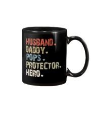 Father Hero Protector Hero Mug tile