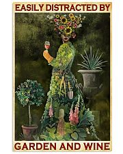 GARDENING EASILY DISTRACTED 11x17 Poster front