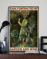 GARDENING EASILY DISTRACTED 11x17 Poster lifestyle-poster-2