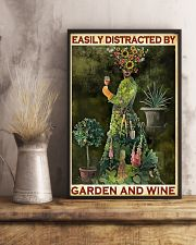 GARDENING EASILY DISTRACTED 11x17 Poster lifestyle-poster-3