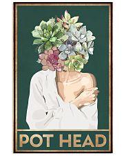 Garden Pot Head Poster 11x17 Poster front