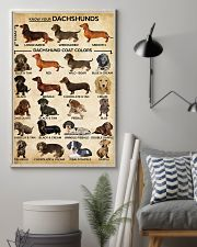 Dachshund Type Of Dogs Poster 11x17 Poster lifestyle-poster-1