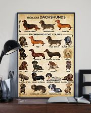 Dachshund Type Of Dogs Poster 11x17 Poster lifestyle-poster-2