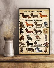 Dachshund Type Of Dogs Poster 11x17 Poster lifestyle-poster-3