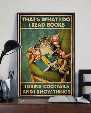 Cat I Drink Cocktails 16x24 Poster lifestyle-poster-2