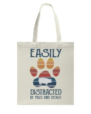 Pigs Easily Distracted Tote Bag tile