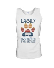 Pigs Easily Distracted Unisex Tank tile