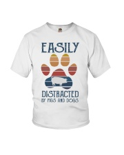 Pigs Easily Distracted Youth T-Shirt tile