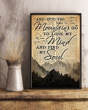 Hiking And Into The Mountain Poster 11x17 Poster lifestyle-poster-3
