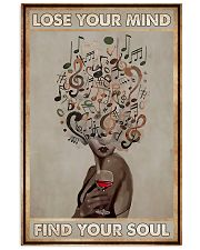 Music Lose Your Mind FInd Your Soul 11x17 Poster front