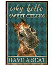Horse Why Hello Sweet Cheeks 11x17 Poster front