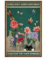 Cat Angels Don't Always Have Wings 16x24 Poster front
