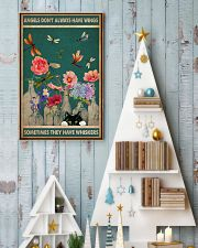 Cat Angels Don't Always Have Wings 16x24 Poster lifestyle-holiday-poster-2