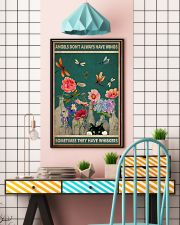 Cat Angels Don't Always Have Wings 16x24 Poster lifestyle-poster-6