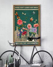 Cat Angels Don't Always Have Wings 16x24 Poster lifestyle-poster-7