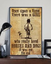 Horse Once Upon A Time Poster 11x17 Poster lifestyle-poster-2