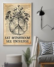 Eat Mushroom 11x17 Poster lifestyle-poster-1