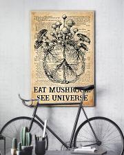 Eat Mushroom 11x17 Poster lifestyle-poster-7